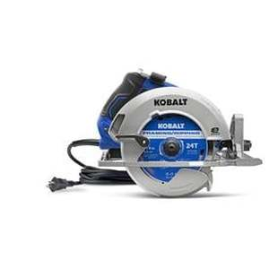 Kobalt 7-1/4-in 15-Amp Corded Circular Saw with Brake and Magnesium Shoe