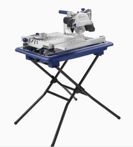 Kobalt 7-in 1 Wet Tabletop Sliding Table Tile Saw