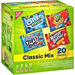 Lot of 3 - Nabisco Variety Classic Mix Snacks Variety Pack, 20 Count
