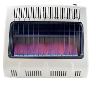 Mr. Heater, Corporation Mr. Heater, 30,000 BTU Vent Free Blue Flame Natural Gas Heater