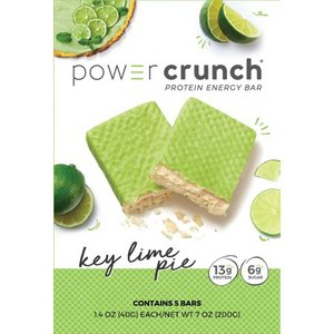Power Crunch Original Protein Bar, 13g Protein, Key Lime Pie, 7 Oz, 5 Ct EXP 8/2021 Retail $12.99