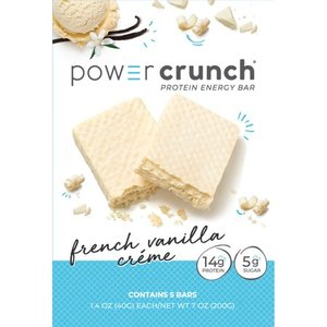 Power Crunch Protein Energy Bar - French Vanilla Creme 5pk EXP 8/2021 Retail $10.99