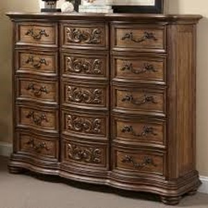 Fleur De Lis Living Alderwood 15 Drawer Chest   $2645