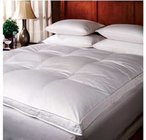 1221 Bedding Down Top Featherbed - White (68×84 inches)