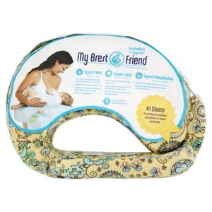 My Brest Friend Original Nursing Pillow - Buttercup Bliss