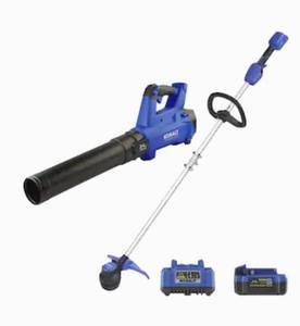 Kobalt 24v Max Brushless Cordless Blower & String Trimmer Combo Kit (tested/works)