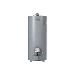 Whirlpool 40-Gallon 6-Year Short Gas Water Heater (Liquid Propane)