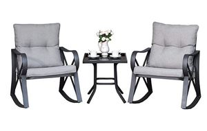 Cosiest, 3 Piece Bistro Set