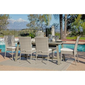 6-piece Outdoor Dining Set by Havenside Home- Retail:$1201.49