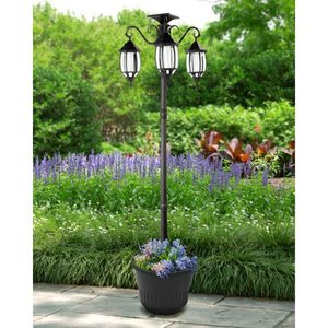 Madison Solar Lamp Post and Planter Retail:$199.99