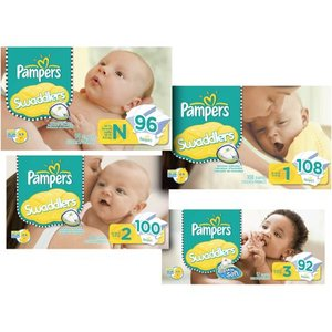 Pampers - Swaddlers Super Pack (Size 1)