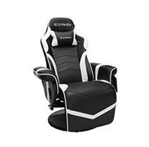 Racing Style Gaming Recliner Chair White - RESPAWN