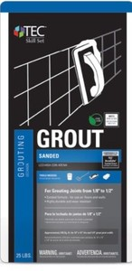 Lowe's TEC 25-lb Bright White Powder Sanded Grout