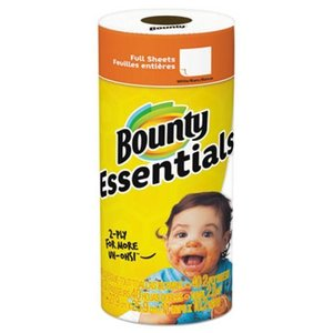 Bounty Basic White Paper Towels- Regular Roll- 7ct