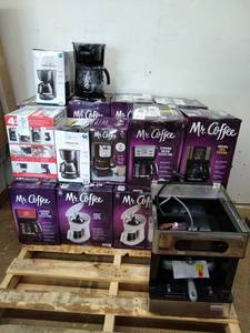Coffee Makers, assorted untested customer returns
