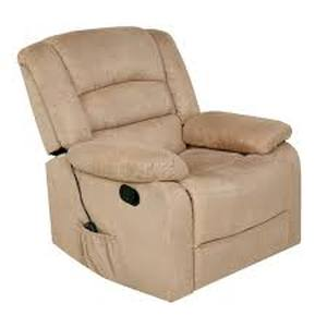 Copper Grove Tynwald Rocker Recliner with Heat, Massage, and USB in Beige- Retail:$447.49