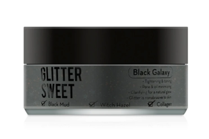 Glitter Sweet- Glitter Mask- Black Galaxy