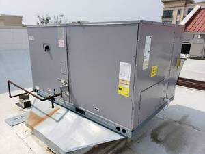 2013 Carrier 7.5 Ton Commercial Packaged Rooftop Gas Heat & Electric Cool Unit