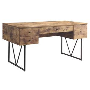 Analiese Industrial Antique Writing Desk Retail:$577.49