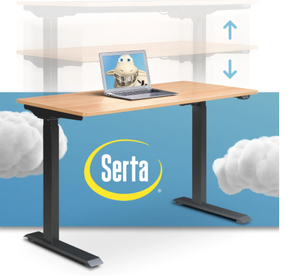 Serta Creativity Electric Height Adjustable Standing Desk Retail:$345.49