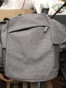 gray backpacks with laptop pocket 2 per lot