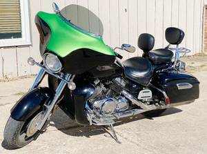MOTORCYCLE - 2006 Yamaha ROYAL STAR TOUR DELUXE - 1300cc - Clean KS Title - VIDEOS! Low Reserve - PAID OVER $6,000 A FEW YEARS AGO!