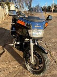 1987 Honda Goldwing 1200A Motorcycle with Cruise Control and Air Compressor