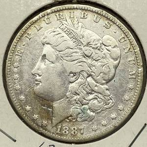 1887-O Morgan Silver Dollar Coin