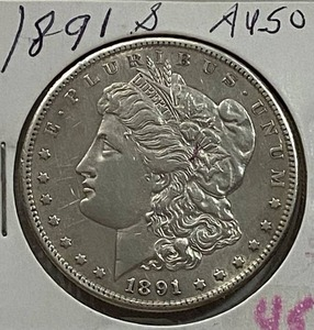 1891-S $1 Morgan Silver Dollar - Very Collectible