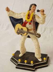 "Elvis Presley, ""Aloha From The King"" # 1240, Showcase of the King Collection, The Bradford Exchange, Limited Edition"