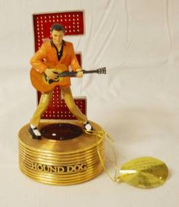 "Elvis Presley, ""Hound Dog"" Music Box - The King of Rock 'N' Roll"