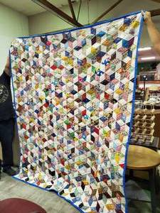 Large Handmade Quilt