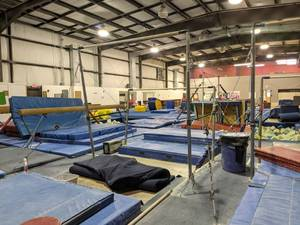 Elite Uneven Bars Set (XL) With Graphite Rails,  Mats Not Included