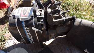 MERCURY  BOAT MOTOR 20 HP - FOR PARTS OR NEW LOWER UNIT