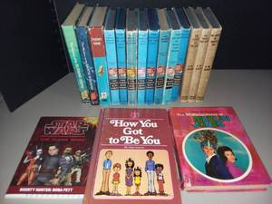 Hardy Boys Books with Various Childrens Books