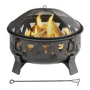 Garden Treasures Wood-Burning Fire Pit #A301002800