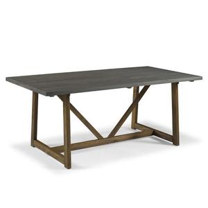 The Gray Barn 72-inch Solid Wood Trestle Dining Table- Retail:$389.49