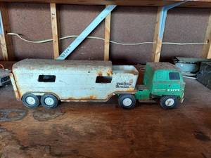 Ertl Metal Semi and Trailer