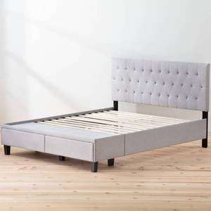 Brookside Anna Upholstered Storage Bed with Drawers - Retail:$489.99