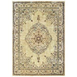 United Weavers Royalton Area Rug 853 10215 Stirling Ivory Bordered Ornament