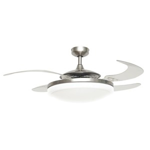 Fanaway Evo2 Retractable 4-blade Lighting with Remote Ceiling Fan