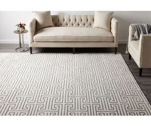 Cora Contemporary Hand Knotted Indoor Area Rug, 9' x 12' - Retail:$1094.99