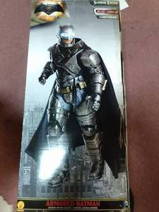 Batman VS Superman: Dawn Of Justice- Armored Batman Supreme edition Adult costume cosplay Halloween