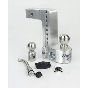 Weigh Safe 8 in. Drop Adjustable Class V Ball Mount