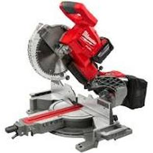 MILWAUKEE M18 FUEL 18-Volt Lithium-Ion Brushless Cordless 10 in. Dual Bevel Sliding Compound Miter Saw - (Tool Only No Charger) -- MSRP $499.00
