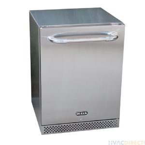 BULL 24-Inch 4.9Cu.Ft. Stainless Steel Premium Outdoor Rated Compact Refrigerator Series II -- MSRP $1,549.00