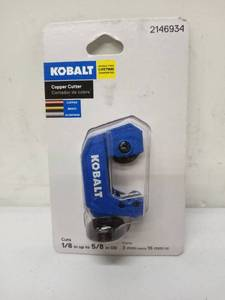 Kobalt copper cutter eighth inch 2 5/8 inch od to 214693