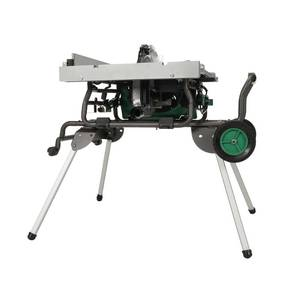 Metabo-hpt C10rjsm 15-amp 10 in Jobsite Table Saw W/fold And Roll Stand