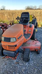Kubota G2160 Mower 60in Deck Diesel