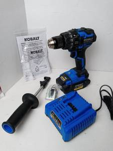 Kobalt Brushless Drill/Driver Kit with Charger